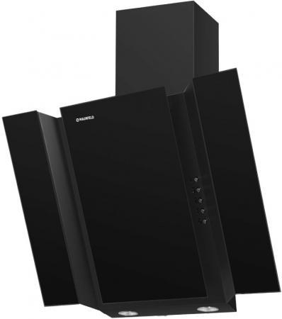 Вытяжка подвесная Maunfeld Trent Glass 60 серебристый/чёрный черный/серебристый