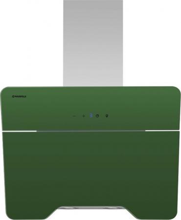 Вытяжка подвесная Maunfeld TWEED 60 зеленый buttoned pocket lapel tweed woolen coat