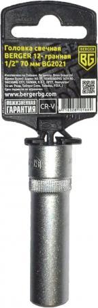 Головка свечная BERGER BG2021 12-гранная 1/2 14мм/70мм