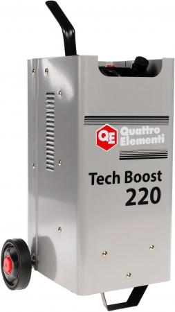 Пуско-зарядное устройство QUATTRO ELEMENTI 771-435 Tech Boost 220  ( 12 / 24 Вольт, заряд до 30А, пу