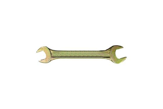Ключ рожковый СИБРТЕХ 14315 (30 / 32 мм) желтый цинк цена