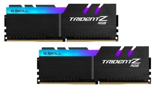 Модуль памяти DDR4 G.SKILL TRIDENT Z RGB 16GB (2x8GB kit) 3200MHz CL16 PC4-25600 1.35V / F4-3200C16D-16GTZR motorcycle fairing kit for honda cbr600rr cbr600 cbr 600 f4 1999 2000 99 00 fairings kit high quality abs plastic blue white