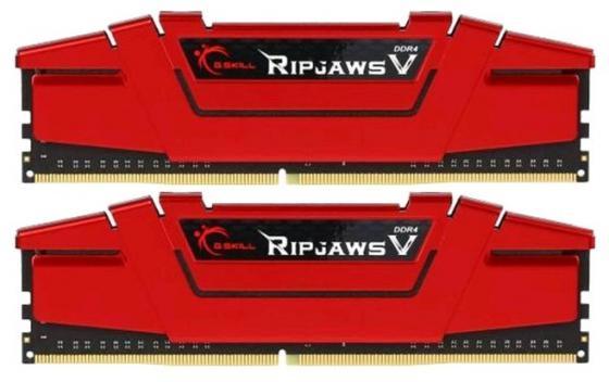 Оперативная память 16Gb (2x8Gb) PC4-19200 2400MHz DDR4 DIMM CL15 G.Skill F4-2400C15D-16GVR Blazing Red