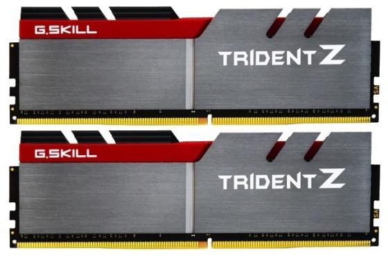 Модуль памяти DDR4 G.SKILL TRIDENT Z 16GB (2x8GB kit) 3200MHz CL16 PC4-25600 1.35V / F4-3200C16D-16GTZB модуль памяти patriot memory ddr4 dimm 3200mhz pc4 25600 cl16 16gb kit 2x8gb pvr416g320c6k