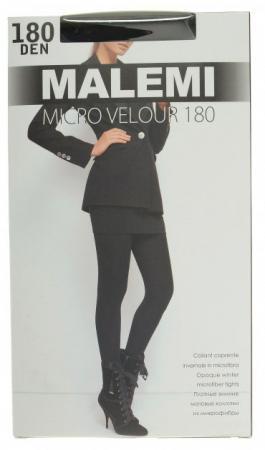Malemi Колготки Micro Velour 180 Nero, 2