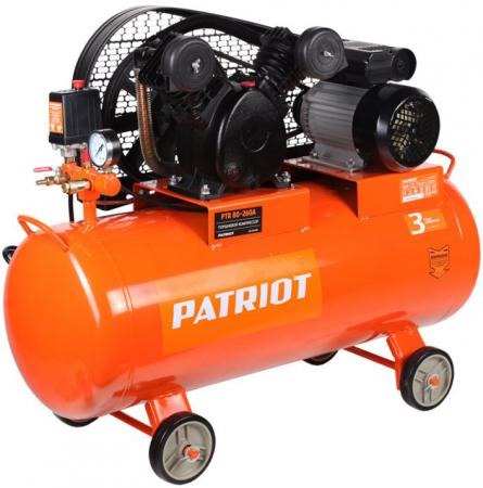 Компрессор Patriot PTR 80-260А 2,0кВт цена и фото