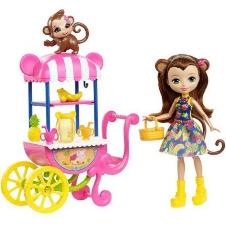 Фото - Кукла Enchantimals со зверюшкой и транспортным средством в асс-те кукла eg кукла в ас те