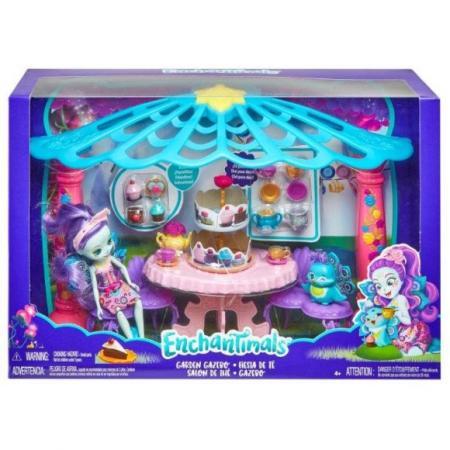 Набор Enchantimals Чаепитие Пэттер Павлины и Флэпа mattel enchantimals fxm74 кукла с питомцем пэттер павлина