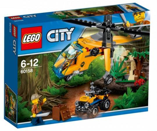 Конструктор LEGO 60158 Грузовой вертолёт исследователей джунглей 201 элемент цены онлайн