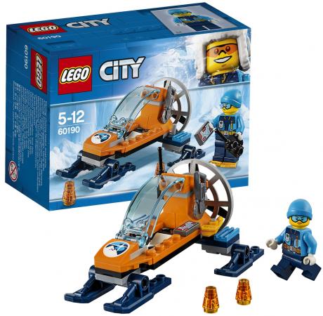 Конструктор LEGO Аэросани 50 элементов конструктор lego city арктическая экспедиция аэросани 50 элементов