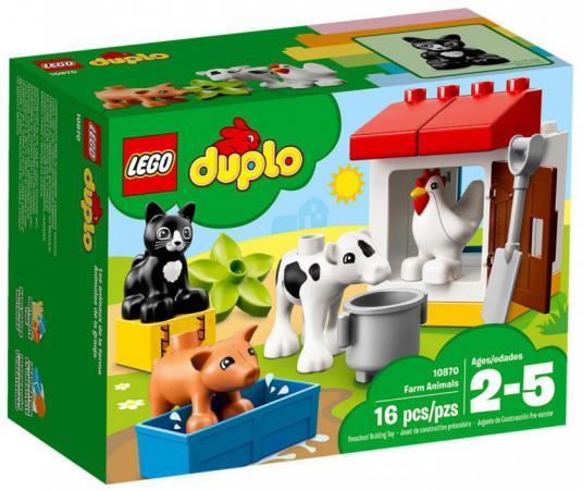 Конструктор LEGO Ферма: домашние животные 16 элементов