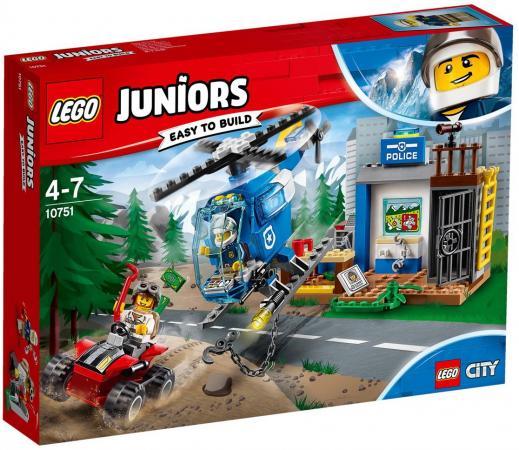 Конструктор LEGO Погоня горной полиции 115 элементов 10751 конструктор lego уличная погоня 308 элементов