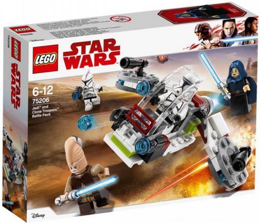 Конструктор LEGO Боевой набор джедаев и клонов-пехотинцев 102 элемента конструктор lego боевой набор джедаев и клонов пехотинцев
