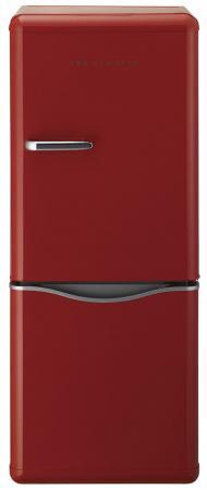 Холодильник DAEWOO BMR-154RPR красный холодильник shivaki bmr 2013dnfw двухкамерный белый