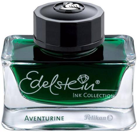 Флакон с чернилами Pelikan Edelstein EIGR (339366) Aventurine чернила темно-зеленые чернила 50мл для ручек перьевых