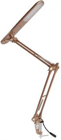 цена на Лампа настольная CAMELION KD-785 C90 розовое золото LED. 5 Вт. на струбцине. 4000К. 230В