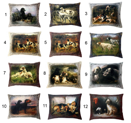 Подушка подушка СПИ Антистрессовая подушка Собаки 50 см текстиль синтепон подушка