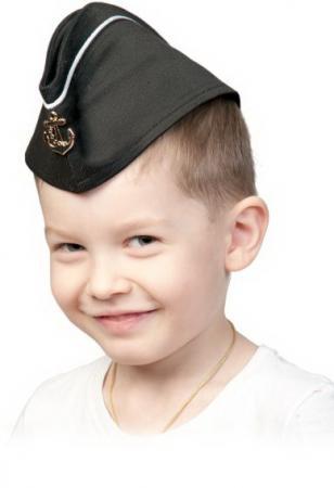 Пилотка детская Карнавалофф ВМФ