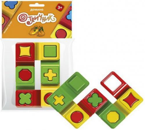 Настольная игра домино Биплант Отличник игры для малышей биплант домино отличник 6 шт