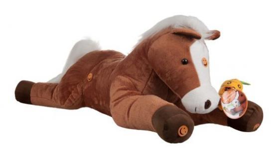 Лошадь Игогоша интерактивный 100 см. teeboo 10 inch puppy black lab interactive plush toy