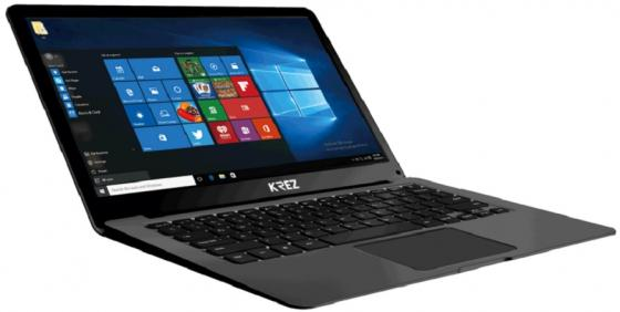 """цена на Ноутбук KREZ N1304 HELIO PRO 13.3"""" 1920x1080 Intel Celeron-N3350 1 Tb 3Gb Intel HD Graphics 500 черный Windows 10 Professional N1304"""