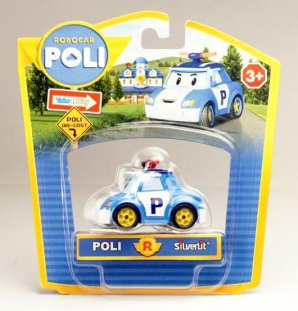 Автомобиль POLI металлическая машинка голубой 83162 автомобиль poli металлическая машинка голубой 83162