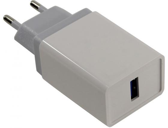 Сетевое зарядное устройство ORIENT QC-12V1W 3 А белый 30649 зарядное