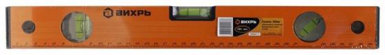 Вихрь [73/11/4/1] Уровень алюминиевый 400мм фрезерованный 3 глазка уровень matrix фрезерованный с ручками 3 глазка 1500 мм