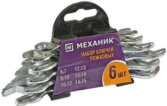 Набор рожковых ключей NN З 27015-H6 (6 - 15 мм) 6 шт. топор nn з 2071 12