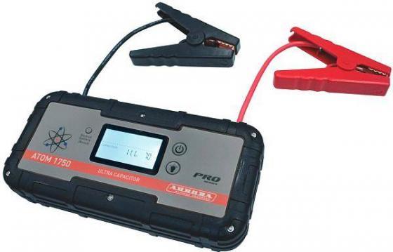 Пусковое устройство AURORA ATOM 1750 ULTRA CAPACITOR конденсаторное. 6000 mAh.Пиковый ток 12В 700 diy 25v 100uf aluminum electrolytic capacitor black 10pcs