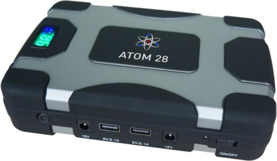 Устройство пуско-зарядное AURORA 18908 ATOM 28 12В 28000мАч 103.6Втч 850/1700А пуско зарядное устройство сетевое ring automotive recb320 12в 20а