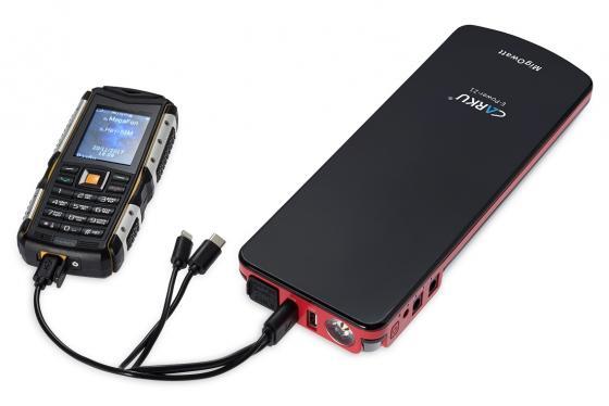 Устройство пусковое CARKU E-Power-21 18000mAh 66.6Вт/ч пусковой ток300А пиковый ток600A