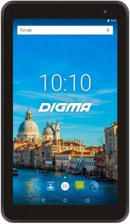 "Планшет Digma Optima 7017N 3G MT8321 (1.3) 4C/RAM2Gb/ROM16Gb 7"" IPS 1024x600/3G/Android 7.0/черный/2Mpix/0.3Mpix/BT/GPS/WiFi/Touch/microSD 64Gb/minUSB/2500mAh все цены"
