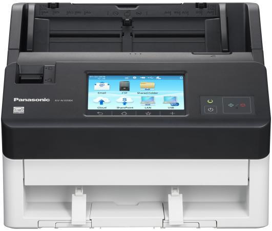 Сканер Panasonic KV-N1058X-U A4 белый/серый сканер panasonic kv s1037 kv s1037 x a4 белый черный