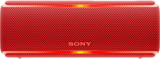 Колонка порт. Sony SRS-XB21 красный 14W 2.0 BT/3.5Jack 10м (SRSXB21R.RU2) old version degen de1103 1 0 ssb pll fm stereo sw mw lw dual conversion digital world band radio receiver de 1103 free shipping