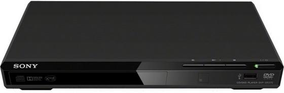 Плеер DVD Sony DVP-SR370 черный ПДУ плеер sony nw a35hn