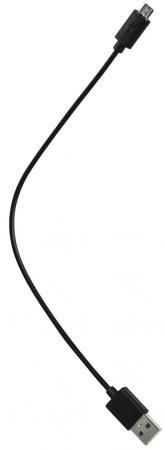 Кабель microUSB 0.2м HAMA 00123598 круглый черный кабель