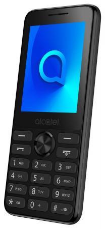 Мобильный телефон Alcatel 2003D темно-серый 2.4