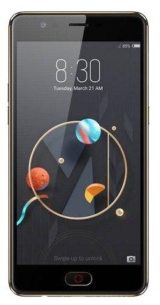 Смартфон ZTE Nubia M2 Lite черный 5.5 64 Гб LTE Wi-Fi GPS 3G Bluetooth смартфон zte nubia z17 lite синий золотистый 5 5 64 гб lte nfc wi fi gps 3g