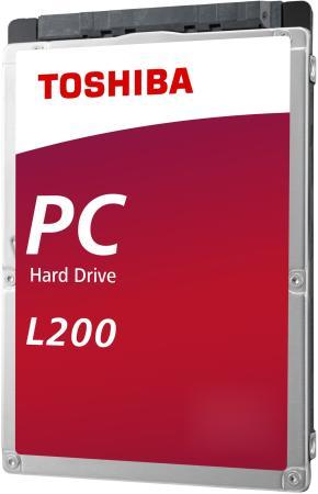 Жесткий диск для ноутбука 2.5 2 Тb 5400rpm 128Mb Toshiba L200 SATA III 6 Gb/s Rtl жесткий диск toshiba l200 slim hdwl110ezsta 1тб hdd sata iii 2 5 rtl