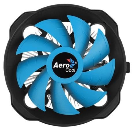 Устройство охлаждения(кулер) Aerocool BAS AUG Soc-FM2+/AM2+/AM3+/AM4/1150/1151/1155/ 4-pin 15-26dB Al+Cu 125W 361gr Ret thermalright le grand macho rt computer coolers amd intel cpu heatsink radiatorlga 775 2011 1366 am3 am4 fm2 fm1 coolers fan