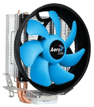 Устройство охлаждения(кулер) Aerocool Verkho 2 Plus Soc-FM2+/AM2+/AM3+/AM4/1150/1151/1155/ 4-pin 18-27dB Al+Cu 115W 444gr Ret устройство охлаждения кулер aerocool verkho 3 plus soc fm2 am2 am3 am4 1150 1151 1155 4 pin 18 27db al cu 125w 528gr ret