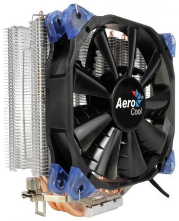 Устройство охлаждения(кулер) Aerocool Verkho 4 Soc-FM2+/AM2+/AM3+/AM4/1150/1151/1155/2011/ 4-pin 15-27dB Al+Cu 140W 678gr Ret 1pcs serial ata sata 4 pin ide to 2 of 15 hdd power adapter cable hot worldwide