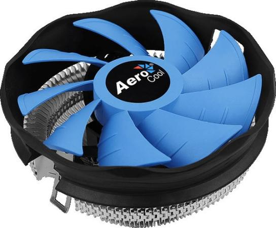 Устройство охлаждения(кулер) Aerocool Verkho Plus Soc-FM2+/AM2+/AM3+/AM4/1150/1151/1155/ 4-pin 19-27dB Al 110W 271gr Ret устройство охлаждения кулер aerocool verkho 3 plus soc fm2 am2 am3 am4 1150 1151 1155 4 pin 18 27db al cu 125w 528gr ret
