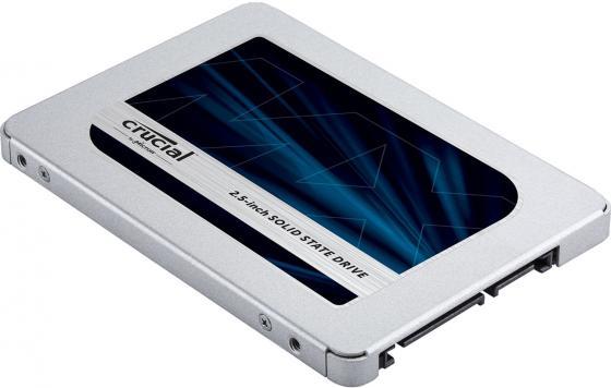 Накопитель SSD Crucial SATA III 1000Gb CT1000MX500SSD1N MX500 2.5 ssd накопитель crucial bx500 ct240bx500ssd1 240гб 2 5 sata iii