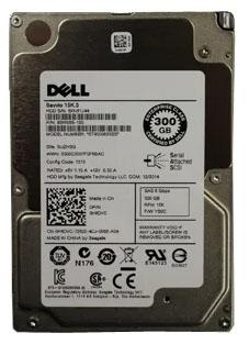 Жесткий диск Dell 1x300Gb SAS 15K H8DVC 2.5 new for 03x3621 3 5 15k 300g sas st3300657ss rd630 640 650 1 year warranty