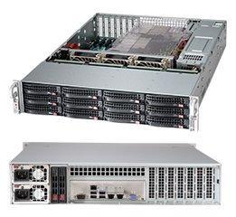 Корпус SuperMicro CSE-826BE1C4-R1K23LPB 2x1200W черный корпус supermicro cse 846be1c r1k23b 2x1200w черный