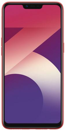 Смартфон Oppo A3s красный 6.2 16 Гб LTE Wi-Fi GPS 3G Bluetooth A3s_red смартфон bq aquaris u2 черный 5 2 16 гб nfc lte wi fi gps 3g c000291