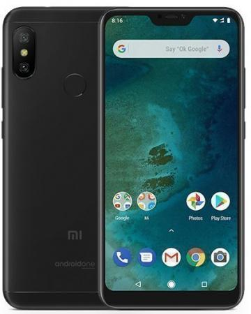 Смартфон Xiaomi Mi A2 Lite черный 5.84 32 Гб LTE Wi-Fi GPS 3G MiA2Lt32GBBLK смартфон meizu 15 lite красный 5 46 32 гб lte wi fi gps 3g