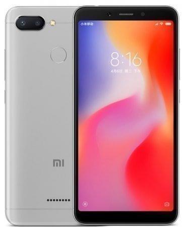 Смартфон Xiaomi Redmi 6 серый 5.45 32 Гб LTE Wi-Fi GPS 3G Redmi6GR32GB